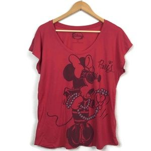 Disney Minnie Mouse Paris Tee